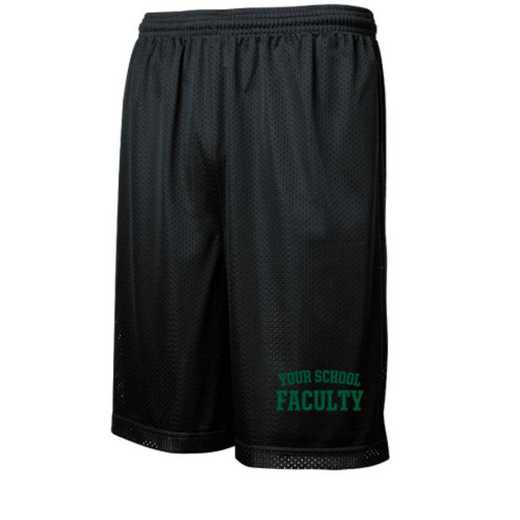 Faculty Embroidered Sport-Tek 9 inch Classic Mesh Short