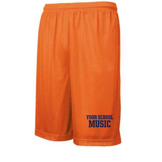 Music Embroidered Sport-Tek 9 inch Classic Mesh Short