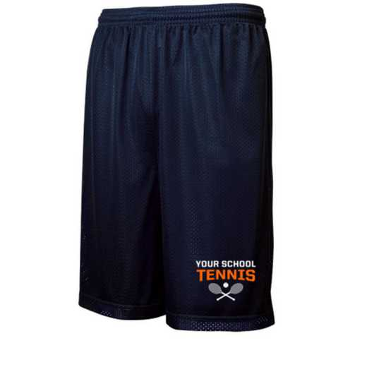 Tennis Embroidered Sport-Tek 9 inch Classic Mesh Short