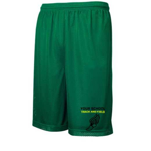 Track and Field Embroidered Sport-Tek 9 inch Classic Mesh Short