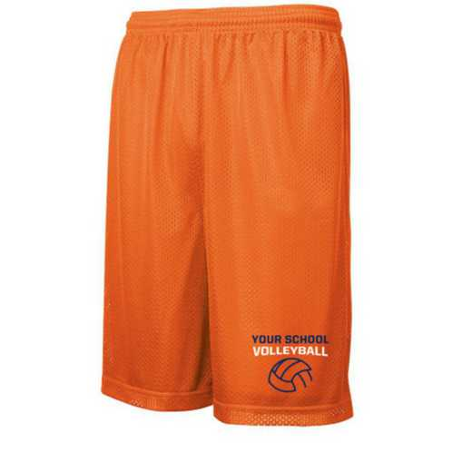 Volleyball  Embroidered Sport-Tek 9 inch Classic Mesh Short