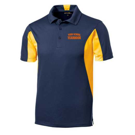 Embroidered Sport-Tek Side Blocked Sport Wick Polo