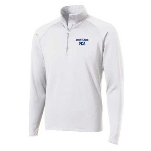 FCA Sport-Tek Embroidered Mens Half Zip Stretch Pullover