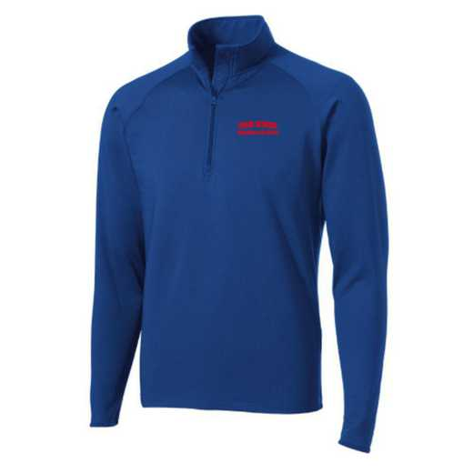 Swimming and Diving Sport-Tek Embroidered Mens Half Zip Stretch Pullover