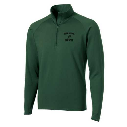 Track and Field Sport-Tek Embroidered Mens Half Zip Stretch Pullover