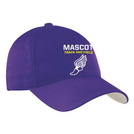 Track and Field Embroidered Sport-Tek Nylon Cap