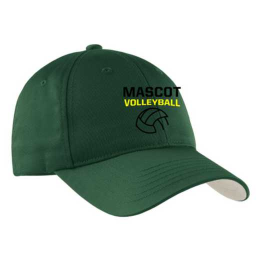 Volleyball  Embroidered Sport-Tek Nylon Cap