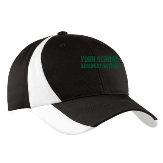 Administration Embroidered Sport-Tek Color-Block Cap