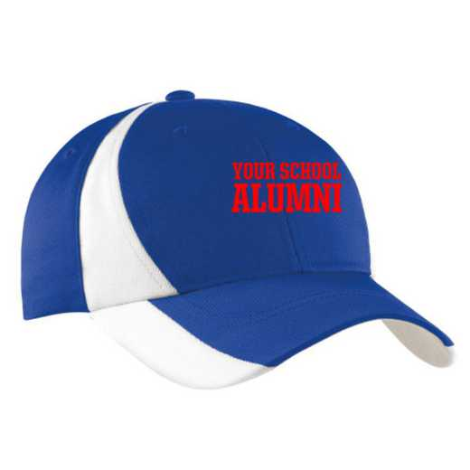 Alumni Embroidered Sport-Tek Color-Block Cap