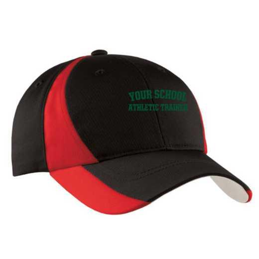 Athletic Trainer Embroidered Sport-Tek Color-Block Cap