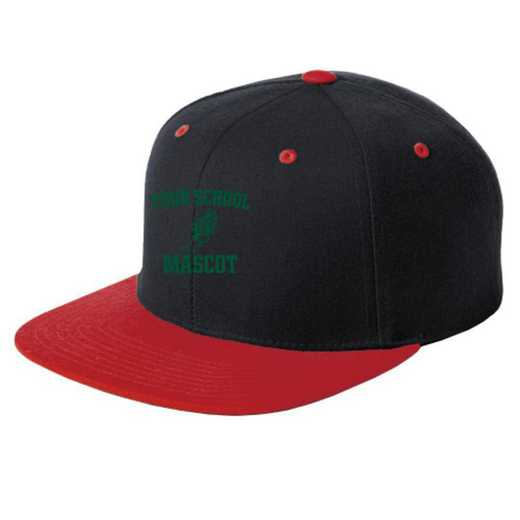 Track and Field Embroidered Sport-Tek Flat Bill Snapback Cap
