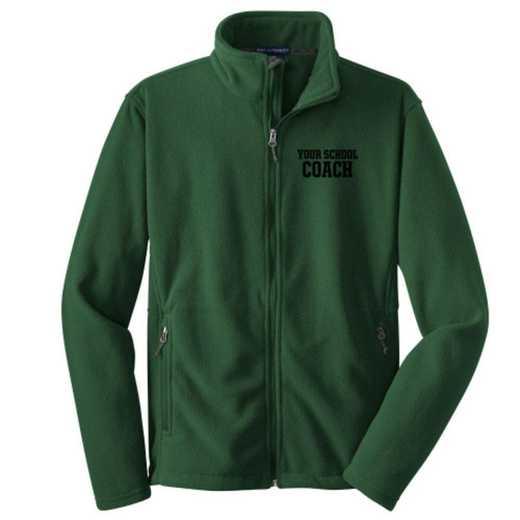 Coach Embroidered Youth Zip Fleece Jacket