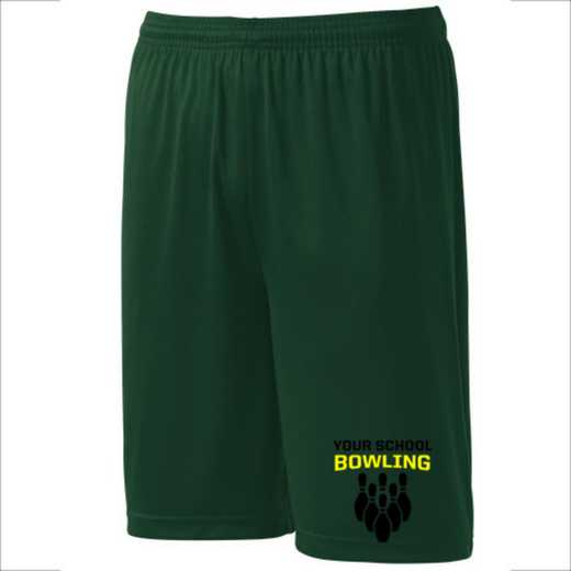 Bowling Youth Sport-Tek 9 inch Competitor Short