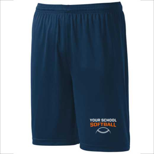 Softball Youth Sport-Tek 9 inch Competitor Short
