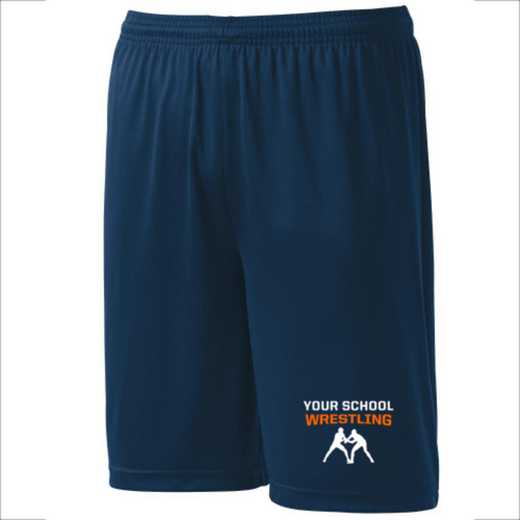 Wrestling Youth Sport-Tek 9 inch Competitor Short