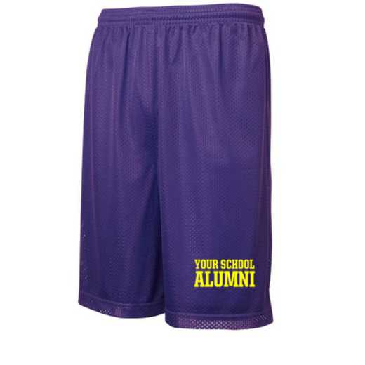 "Alumni Sport-Tek Embroidered Youth 7"" Classic Mesh Short"