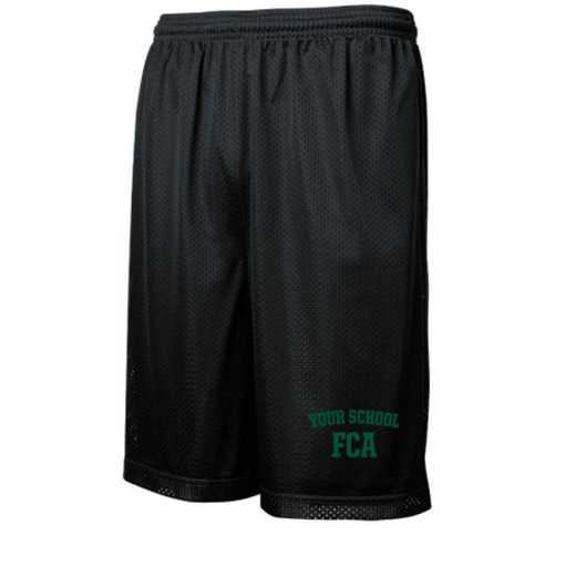 "FCA Sport-Tek Embroidered Youth 7"" Classic Mesh Short"