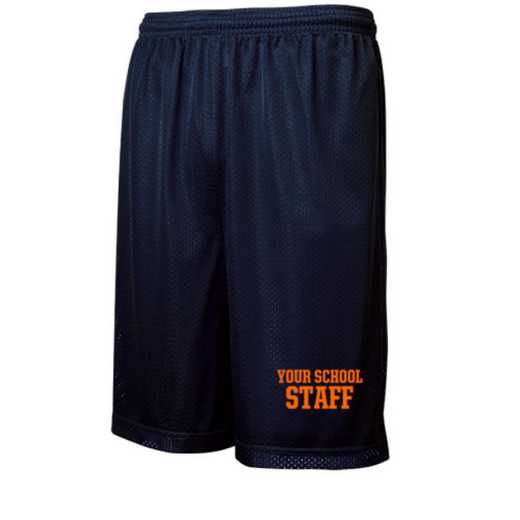 "Staff Sport-Tek Embroidered Youth 7"" Classic Mesh Short"