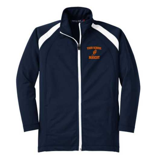 Youth Track & Field Athletic Embroidered Tricot Track Jacket