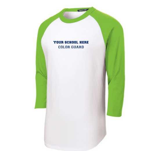 Color Guard Youth Sport-Tek Baseball T-Shirt