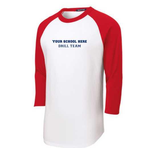 Drill Team Youth Sport-Tek Baseball T-Shirt