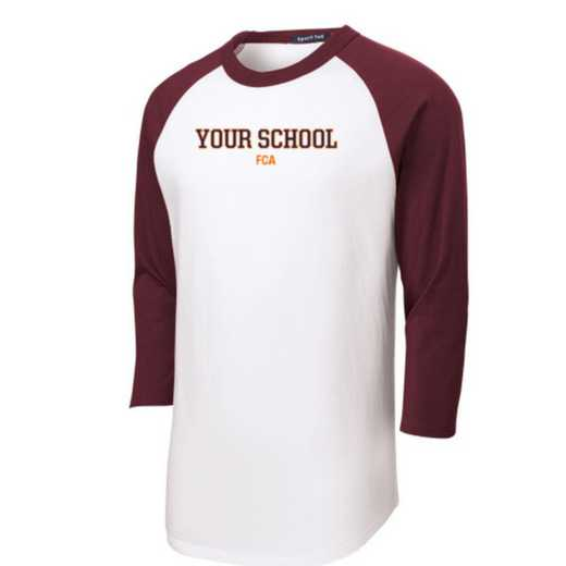 FCA Youth Sport-Tek Baseball T-Shirt