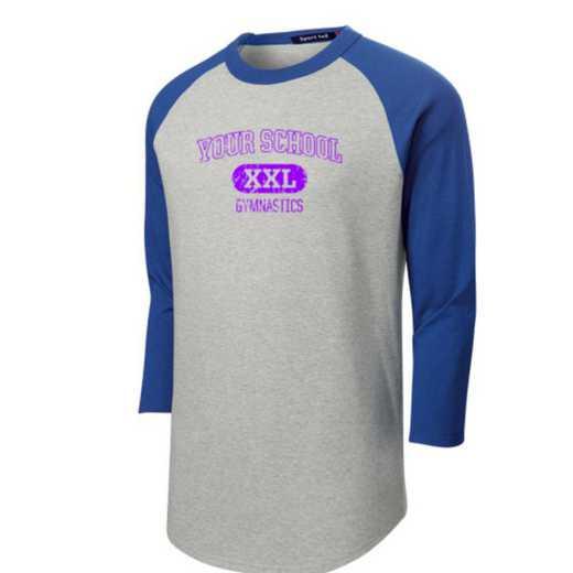 Gymnastics Youth Sport-Tek Baseball T-Shirt