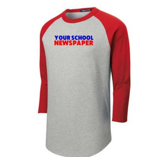 Newspaper Youth Sport-Tek Baseball T-Shirt