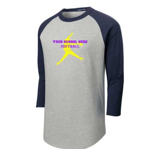 Softball Youth Sport-Tek Baseball T-Shirt