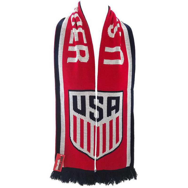 USA-2016-CRES: US Soccer Scarf - Split Crest