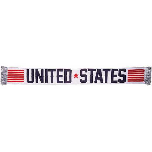 USA-2016-STRP: US Soccer Scarf - Stripes