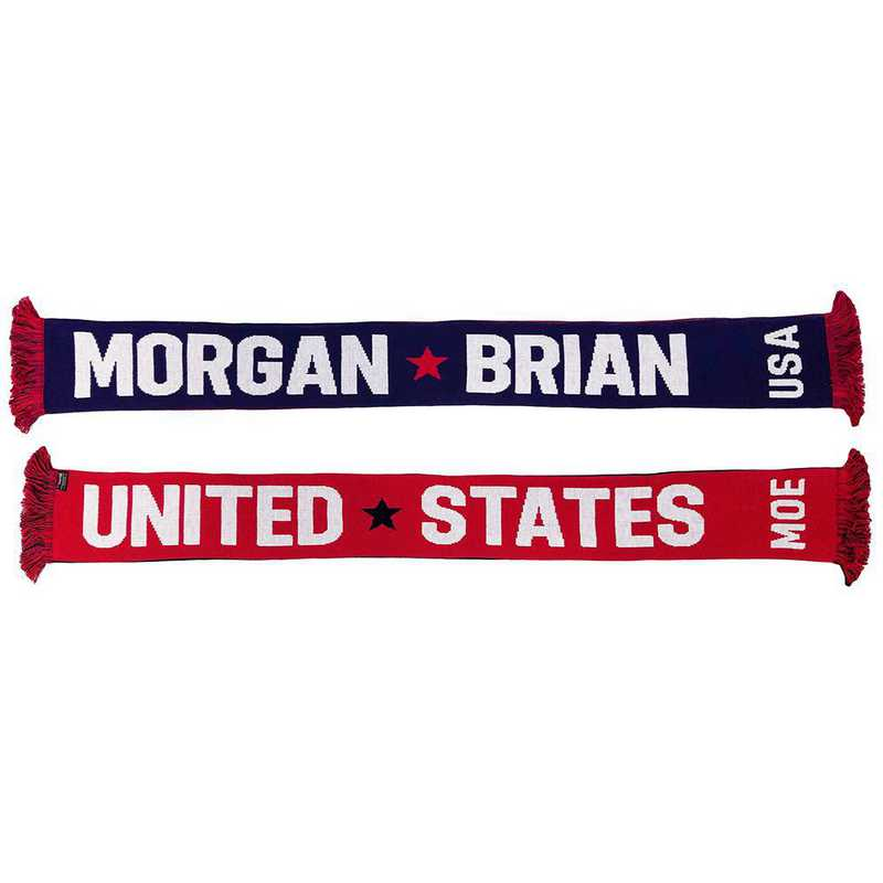 USWNT-PA-BRIAN: USWNT Scarf - Morgan Brian Scarf