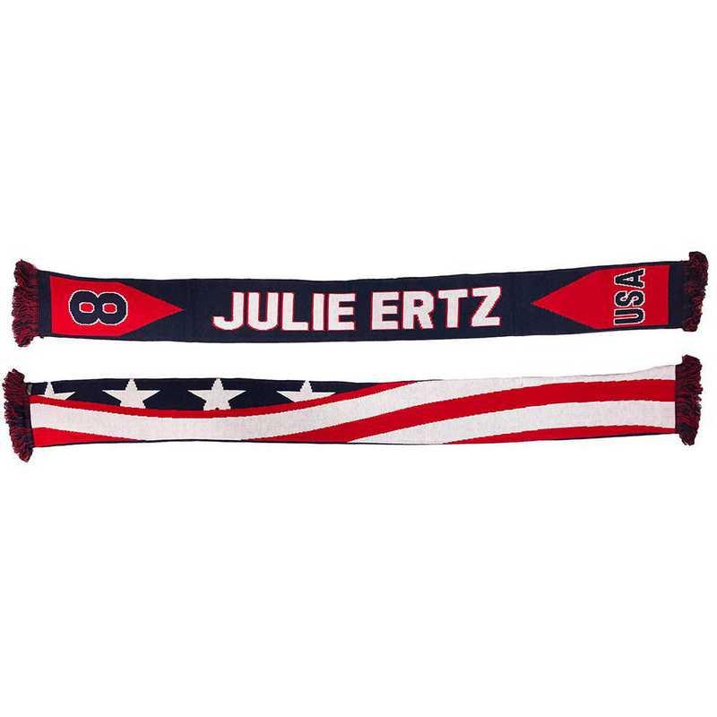 USWNT-PA-ERTZ8: USWNT Scarf - Julie Ertz #8 Scarf