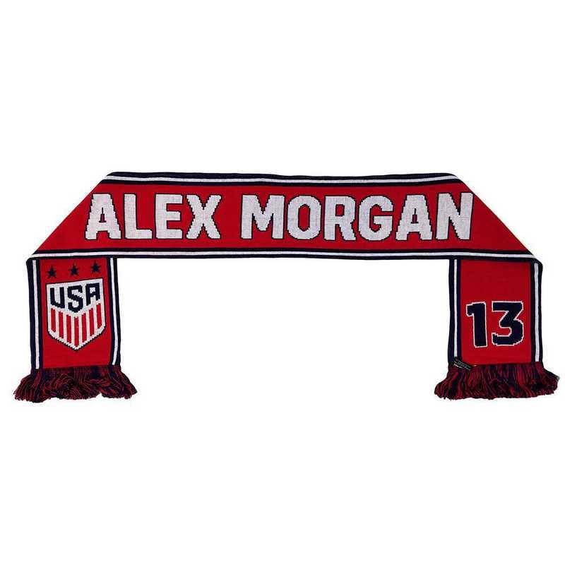 USWNT-PA-MORGAN13: USWNT Scarf - Alex Morgan #13 Scarf