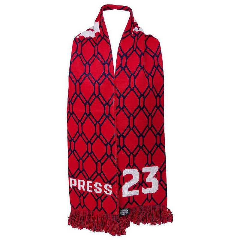 USWNT-PA-PRESS23: USWNT Scarf - Christen Press #23 Scarf