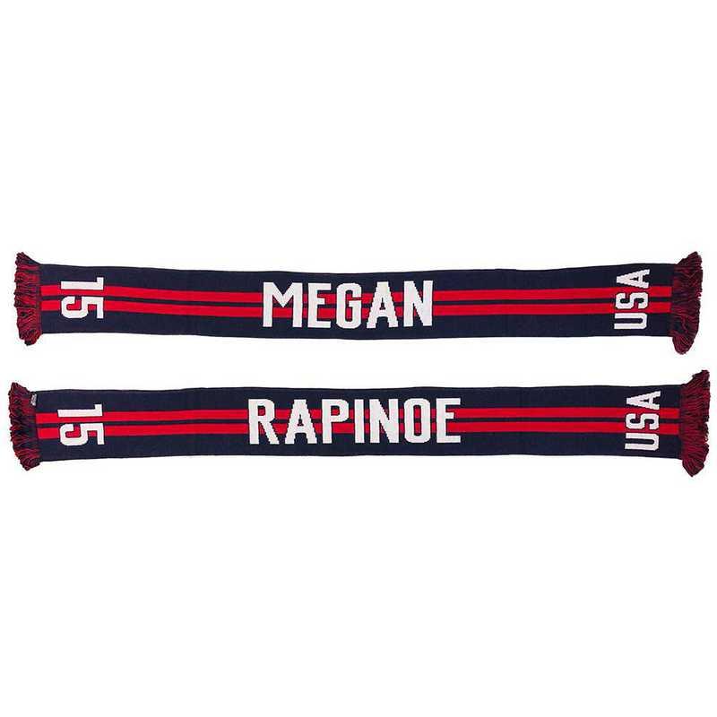 USWNT-PA-RAPINOE15: USWNT Scarf - Megan Rapinoe #15 Scarf