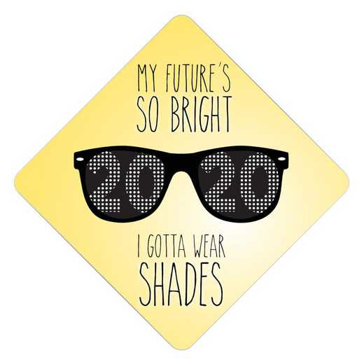 FUTUREBRIGHT: Future Is So Bright Grad Cap Tassel Topper