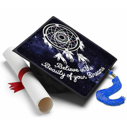 BBD101: Believe In The Beauty of Your Dreams Grad Cap Tassel Topper