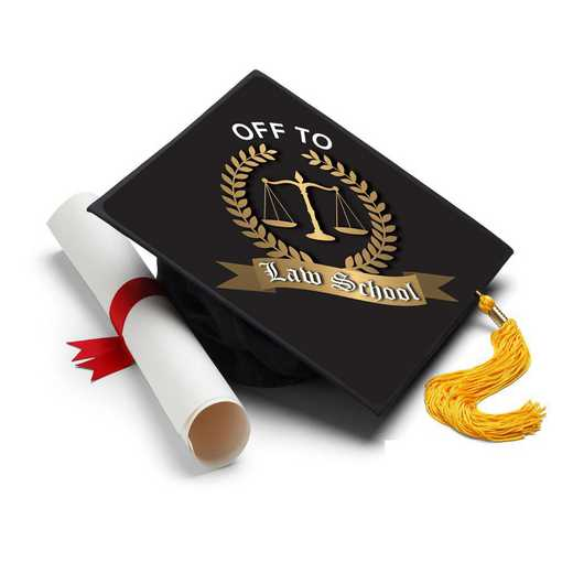 LAWSCHOOL: Law School Grad Cap Tassel Topper