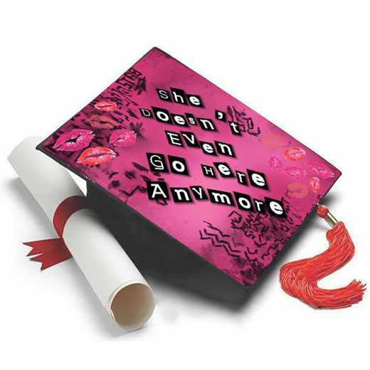MEANGIRLS: Mean Girls Grad Cap Tassel Topper