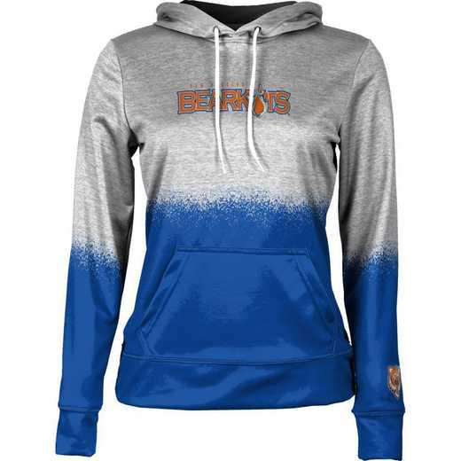 Sam Houston State University Women's Pullover Hoodie, School Spirit Sweatshirt (Spray)