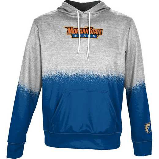 Morgan State University Boys' Pullover Hoodie, School Spirit Sweatshirt (Spray)