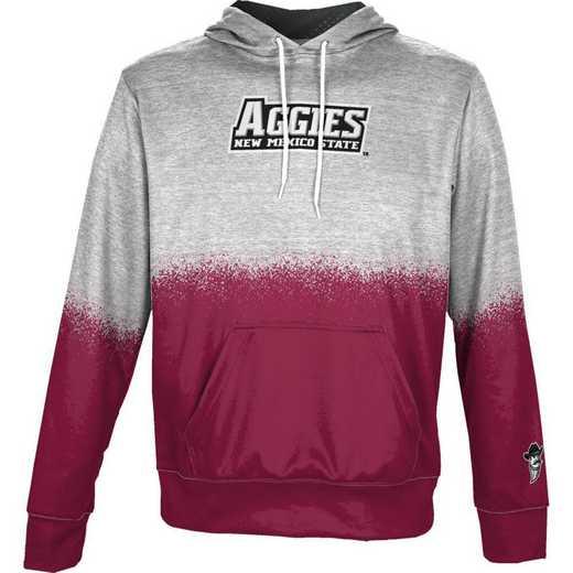 New Mexico State University Boys' Pullover Hoodie, School Spirit Sweatshirt (Spray)