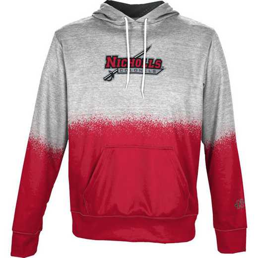 Nicholls State University Boys' Pullover Hoodie, School Spirit Sweatshirt (Spray)
