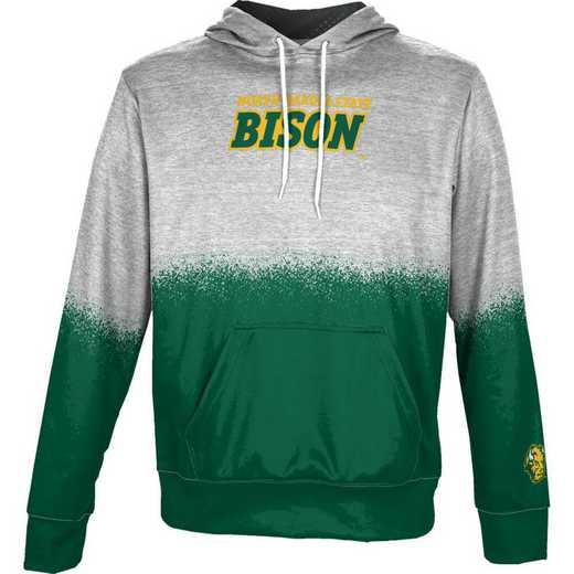 North Dakota State University Boys' Pullover Hoodie, School Spirit Sweatshirt (Spray)
