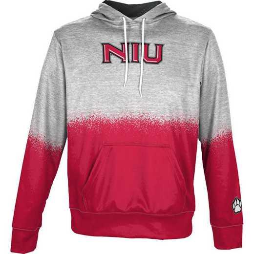 Northern Illinois University Boys' Pullover Hoodie, School Spirit Sweatshirt (Spray)