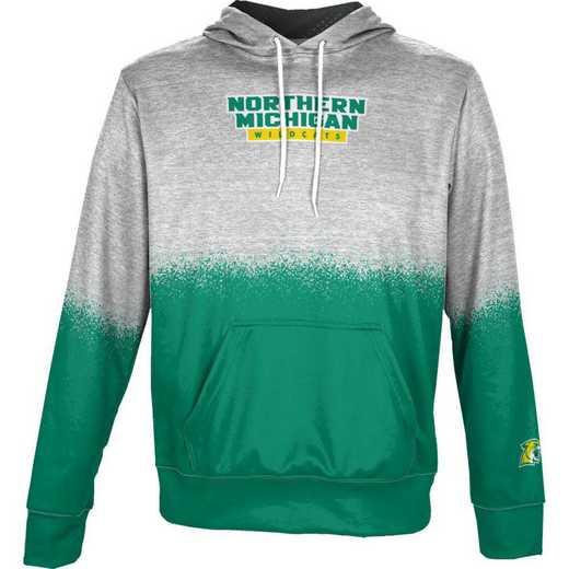 Northern Michigan University Boys' Pullover Hoodie, School Spirit Sweatshirt (Spray)