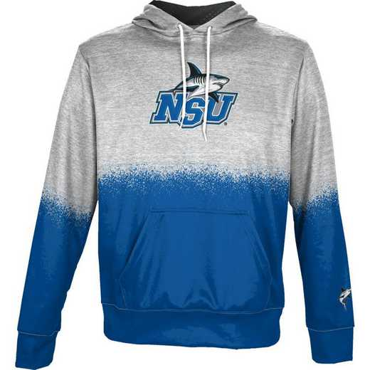 Nova Southeastern University Boys' Pullover Hoodie, School Spirit Sweatshirt (Spray)