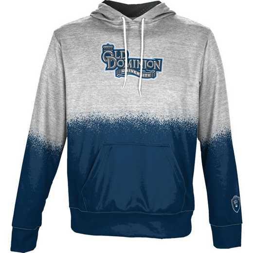 Old Dominion University Boys' Pullover Hoodie, School Spirit Sweatshirt (Spray)