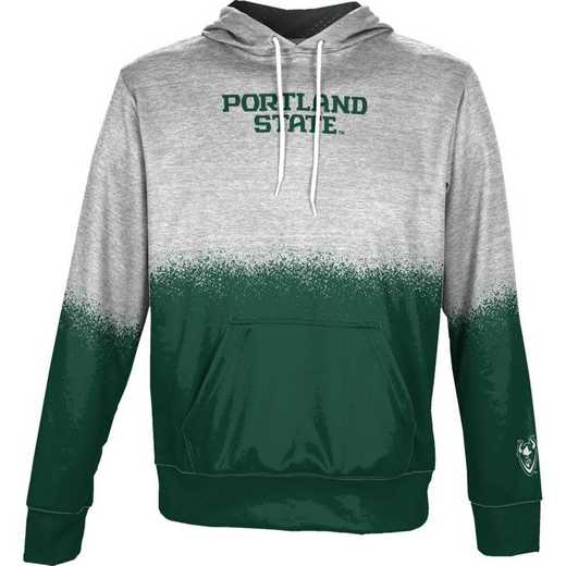 Portland State University Boys' Pullover Hoodie, School Spirit Sweatshirt (Spray)